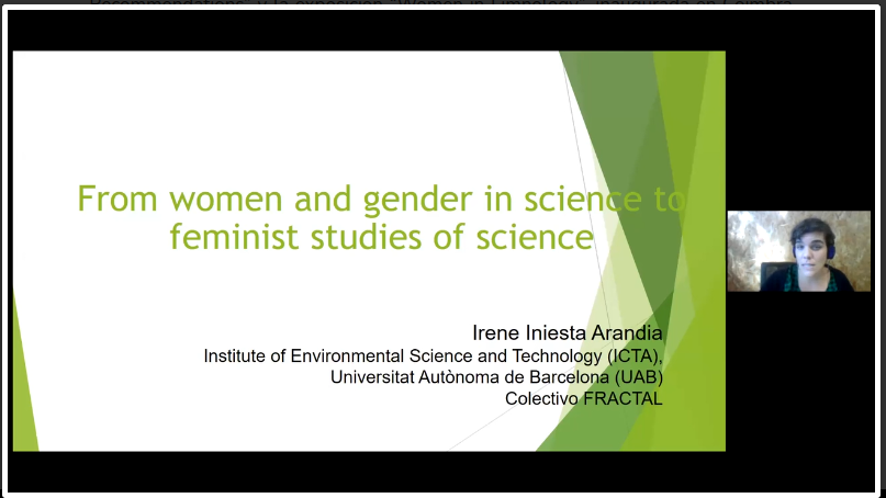 "We participated in the ""Gender & Science"" Session that took place in the Iberian Congress of Limnology (online)"